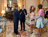 Obamas Meet Prince William and Kate