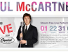 Paul McCartney to Stream Live Performance on iTunes