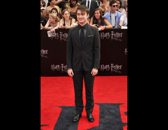 Harry Potter and the Deathly Hallows 2 Premiere - Times Square, NY