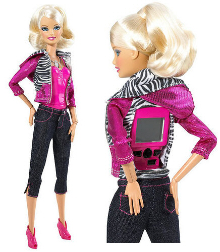 barbie girl doll. Meet the techie Barbie doll.