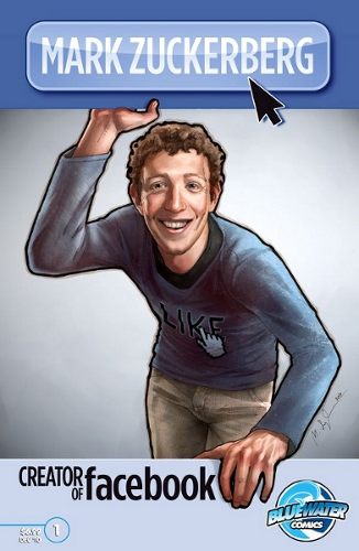 Mark Zuckerberg Biography Comic Book Hits Stores | All We Like