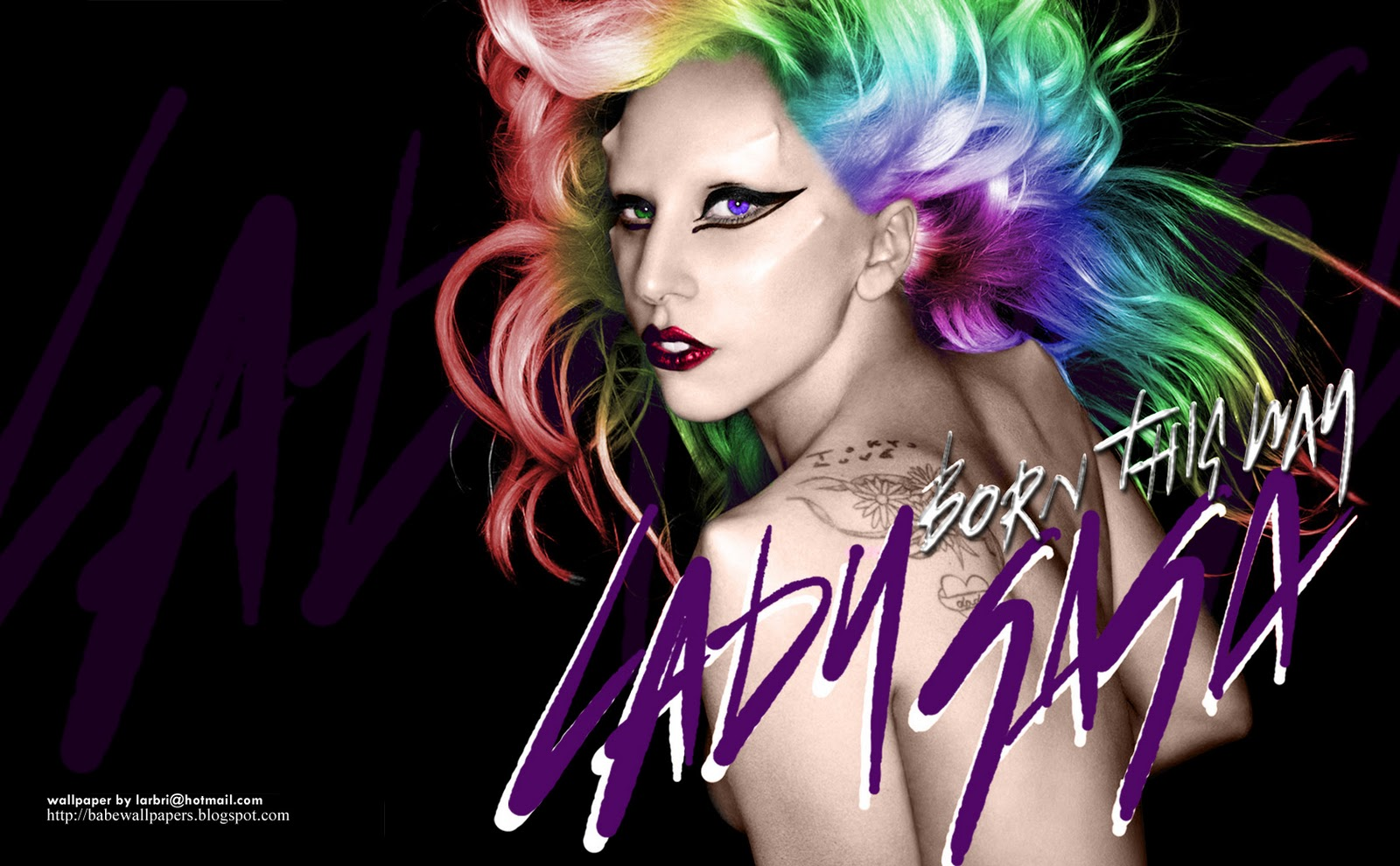 Lady gaga born this way (music album) (download album.